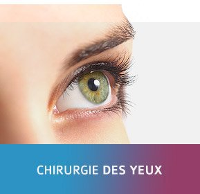 Chirurgie des yeux
